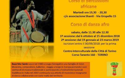 Corso di danza afro